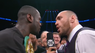 Deontay Wilder vs. Tyson Fury Set For December 1 PPV Event