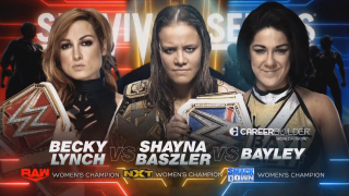 Becky Lynch vs. Shayna Baszler vs. Bayley Set For WWE Survivor Series