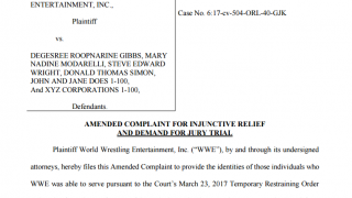 WWE Lawsuit Reveals March 2017 - March 2018 Touring Schedule