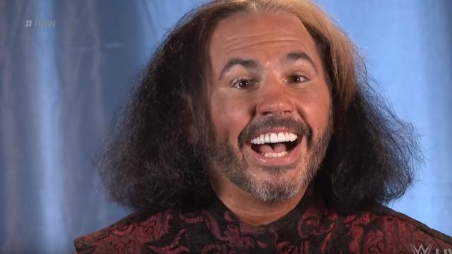 Image result for Matt Hardy Becomes Woken on RAW 12/4/17