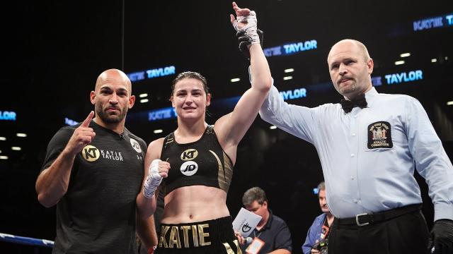 Katie Taylor Retains Unified Women's Titles With Shutout Win On Canelo vs. Rocky Undercard