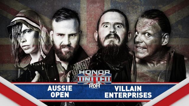 Aussie Open vs. Villain Enterprises Set For 'Honor United' Show In London