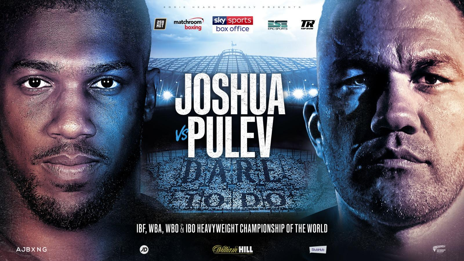 Anthony Joshua's heavyweight title fight with Kubrat Pulev is off