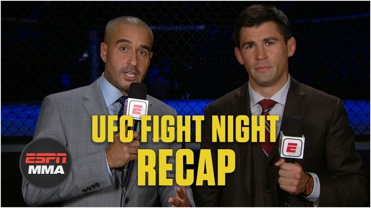 What the hell happened at UFC Newark?!