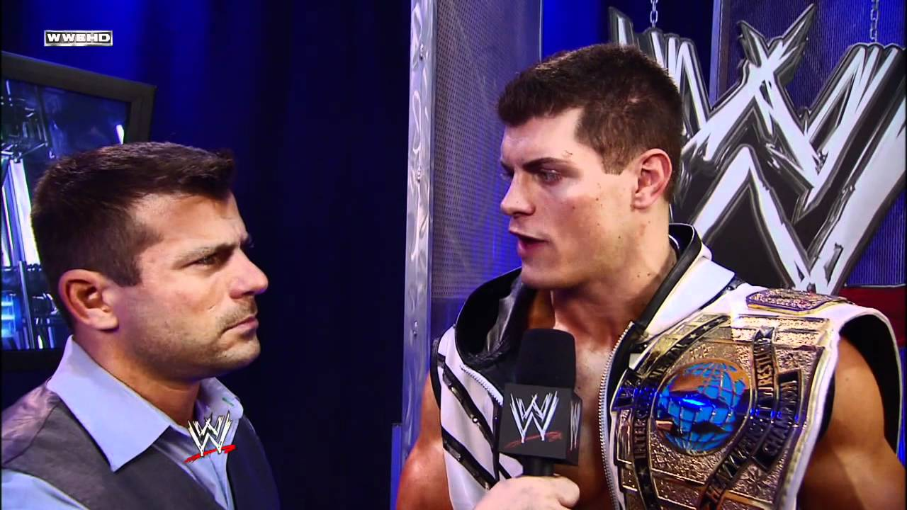 Cody Rhodes Reacts To WWE's New Intercontinental Title Design