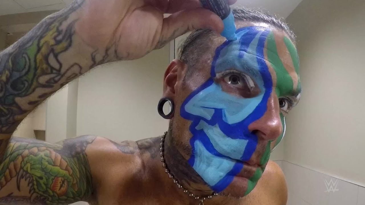 Jeff Hardy Explains The Meaning Behind His Face Paint ...Jeff Hardy Wrestlemania 25 Face Paint