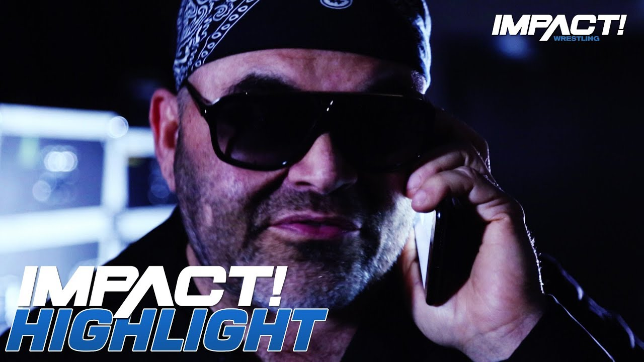 Konnan Slapped By Psicosis II At IMPACT Taping In Mexico