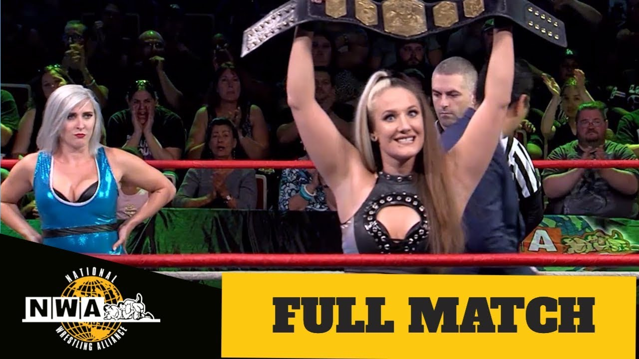 WATCH - Allysin Kay Defends The NWA Women's Championship Against Heather Monroe