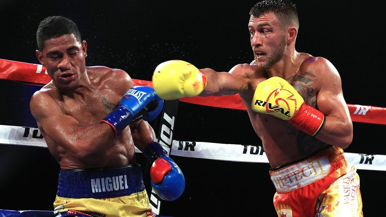 Alexis Texas Boxing august 2019 boxing schedule: vasiliy lomachenko heads to the